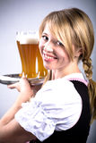 Bavarian girl Royalty Free Stock Images
