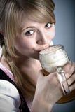 Bavarian girl Stock Image