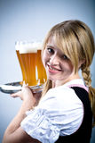 Bavarian girl Royalty Free Stock Photos