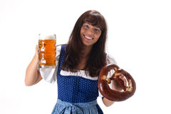 Bavarian girl Stock Image