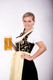 Bavarian girl Stock Photo