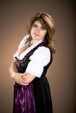 Bavarian girl Royalty Free Stock Photos