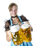 Bavarian Girl Royalty Free Stock Photo