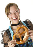 Bavarian girl Stock Photography