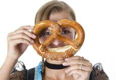 Bavarian Girl Royalty Free Stock Photo