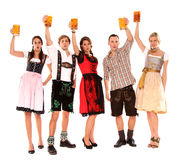 Bavarian group Stock Photo