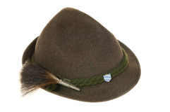 Bavarian hat Stock Image