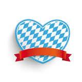 Bavarian Heart Royalty Free Stock Photos
