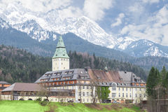 Bavarian hotel Schloss Elmau is official venue of G8 summit Royalty Free Stock Photos