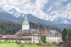 Bavarian hotel Schloss Elmau is official venue of G8 summit Royalty Free Stock Photos