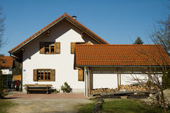 Bavarian house Stock Photography