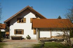 Bavarian house Stock Photography