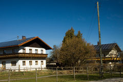 Bavarian house Royalty Free Stock Images