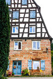Half-timbered house Stock Photography