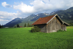 Bavarian hut Royalty Free Stock Image
