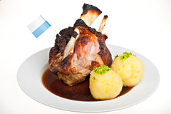 Bavarian knuckle of pork Royalty Free Stock Photography