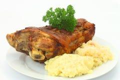 bavarian knykcia wieprzowina Fotografia Stock