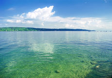 Bavarian lake Royalty Free Stock Photos