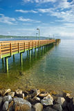 Bavarian lake Stock Images