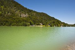 Bavarian Lake Royalty Free Stock Images