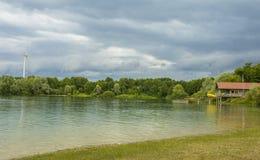 Bavarian lake royalty free stock image