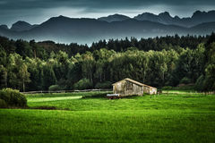 Bavarian landscape Royalty Free Stock Images