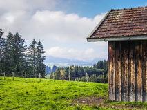 Bavarian landscape Allgau Royalty Free Stock Photo