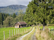 Bavarian landscape Allgau Royalty Free Stock Photo