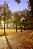 Bavarian landscape in autumn Royalty Free Stock Photo