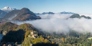 Bavarian Landscape with Castle Stock Images
