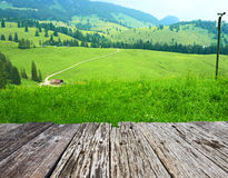 Bavarian landscape Royalty Free Stock Photo