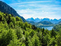 Bavarian landscape Royalty Free Stock Photos