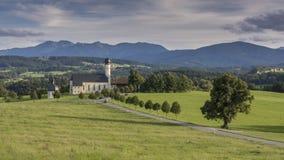The Bavarian landscape Stock Images