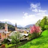 Bavarian landscapes Royalty Free Stock Photos