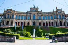 Bavarian Landtag Stock Photography