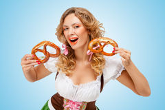 Bavarian laugh. Royalty Free Stock Photo