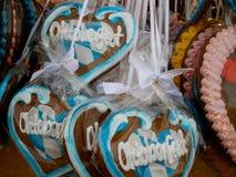 Bavarian Lebkuchen Hearts Royalty Free Stock Image