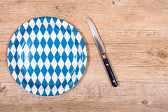Bavarian light meal Royalty Free Stock Photography