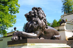 Bavarian lion Royalty Free Stock Image