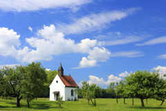 Bavarian little church Royalty Free Stock Photography