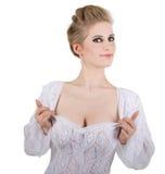 Bavarian maid Stock Photography