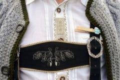 Bavarian man, closeup Stock Photo