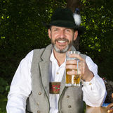 Bavarian man Stock Photography