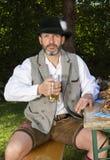 Bavarian man Stock Image