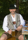 Bavarian man Stock Image