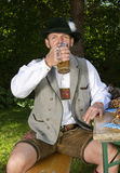 Bavarian man Stock Photo
