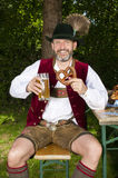 Bavarian man Royalty Free Stock Photos