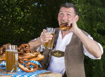 Bavarian man Stock Photos