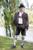 Bavarian man Stock Images
