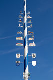 Bavarian Maypole Royalty Free Stock Photo